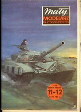 Mały Modelarz 1985/11-12 Czołg średni T-72