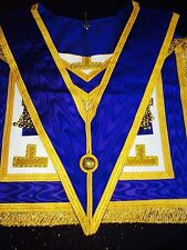 Masonic provincial Apon & Collar Lamb Skin Hand crafted Finest Quality £45