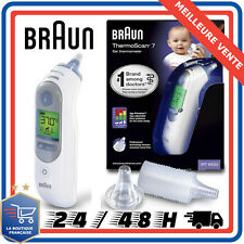Braun Thermomètre Thermoscan 7 Digital auriculaire Infrarouge rapide
