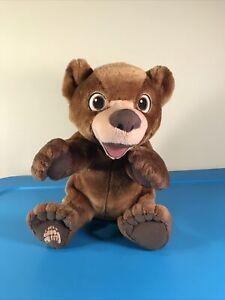 Disney Hasbro Brother Bear Tumble N Laugh Koda Talking Interactive Plush VIDEO!