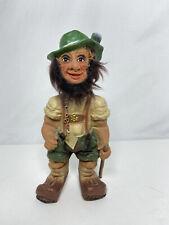 Vintage Bobble Head Heico German Creepy Troll Hiker Nodder BobbleHead