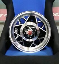 Kit 4 Cerchi in lega Fiat 12 x vecchia 500 126 L Abarth EsseEsse 595 4x190 et22