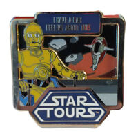 Disney Star Wars 2011 Star Tours C3PO & Boba Fett Pin LE 1000 Have a bad feeling