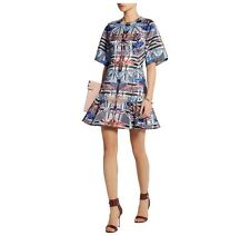Temperley London Arielle Structured Dress Size UK10