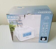 HoMedics SS-4520 VG Soundspa Digital FM Clock Radio with Time Projection