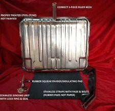 "65 66 67 Chevelle Gas tank / 3/8""  Fuel sending unit / Strap kit & tank pad"