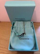 Tiffany And Co Silver Necklace With Tiffany Shoe Charm