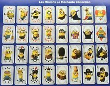 "Carte Sticker Minion ""La méchante collection"" Carrefour à l'unité"