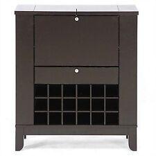 Wine Server Cabinet Rack Bottle Storage Holder Home Pub Furniture Drinks  Dry Bar