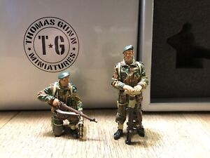 Thomas Gunn:  Boxed Set COMM 004B - British Tank Riders.  54mm metal models