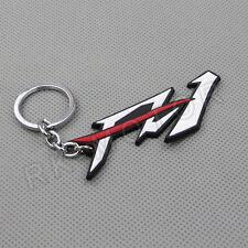 Cool Motorcycle Rubber Keyring Keychain Key Chain Key Ring YAMAHA FZ1 White Gift