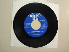 """NUNSUCH: They Threw Sticks & Stones 3:00-Once Before-U.S. 7"""" DC Records 45-716"""