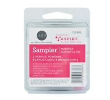 NEW  ASP 2 Acrylic Powders Sampler Pack - 156386