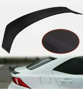 FOR 2014-2020 LEXUS IS200t IS250 IS350 AR STYLE CARBON STYLE TRUNK SPOILER WING