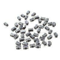50x Momentary Tact Tactile Push Button Switch 2 Pin DIP Through Hole 3x6x4. V2B7