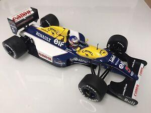1/18 Quartzo Williams FW14b Nigel Mansell 1992 World Champion