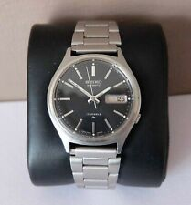 Seiko 7009 8028 Vintage Gents 17 Jewels Automatic Watch New Glass and Bracelet