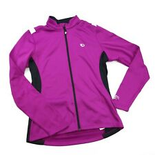 Pearl Izumi Womens Full zip M Purple Long Sleeve Cold Weather bicycle jersey