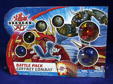 New BAKUGAN 6-PACK BATTLE PACK New Vestroia - Neo Dragonoid Voltra Blue Spindle