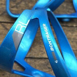 Bontrager Bottle Cages RL Blue Plastic Set of 2 Trek Road MTB Tour Trek