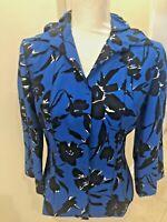 Beautiful  Carlisle Blouse Jacket Top Size 2