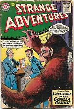 Strange Adventures #117, DC Comics 1960 1st Atomic Knights, Gorilla Cover! G+