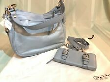 FREE SHIP Authentic Coach Carly with matching Wallet