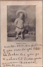 (13b4) Golfing Postcard: Mamma's Caddie