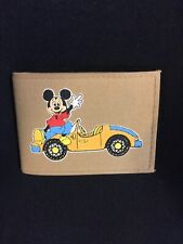 """Disney """"Mickey Mouse� Vintage Mouse Power Wallet"""