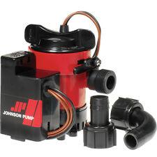"Johnson Pump 500GPH Auto Bilge Pump 3/4"" 12V Mag Switch"