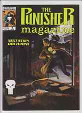 LOT DE 8 PUNISHER MAGAZINE 3 4 7 8 9 11 12 13 MARVEL COMICS FORMAT GEANT !!!!!!!