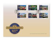 Manx Electric Railway 125th anniversaire FDC (WK91)
