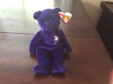 1997 PRINCESS DIANA BEANIE BABY 1st shipment to US. RARE. PVC PELLETS.