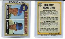 1968 Topps #177  Nolan Ryan New York Mets  Rookie RP Card