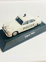 Atlas Editions Jaguar MkII Bedfordshire Police Corgi & Dinky scale 1:43