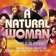 2015 CD 3cd Set - a Natural Woman Pop Queens of The Seventies 70's