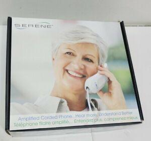 Serene HD60 Telephone Amplified Sound Jumbo Keys Push Button Hearing Aid Compat