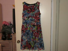 Ladies Phase 7 Multi-Colored Floral Dress (12)