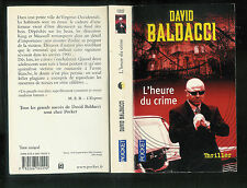 "David Baldacci : L'heure du crime "" Thriller "" Editions Pocket """