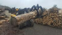 Log bucket / grapple JCB Kellfri £ 950.00 + Vat digger tractor mini excavator