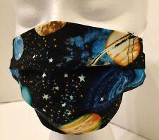 Galaxy Print Reusable Face mask 100 percent cotton