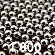 Lot Of 1000 8MM Steel Ball For Sling Shot Ammunition Ammo Slingshot 5/16""