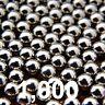 "Lot of 1000 3/8"" Steel Ball For sling shot ammunition Ammo Slingshot Lot"
