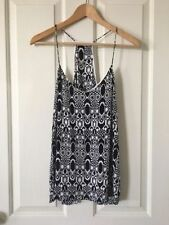 Viscose Tank, Cami Hand-wash Only Geometric Tops & Blouses for Women