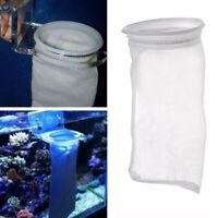 200 Micron 4*9'' Fish Aquarium Marine Sump Micron Pre Filter Sock Holder Bag TO
