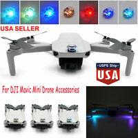 For DJI Mavic Mini Drone LED Strobe Lamp Flash Navigation Light Kit Recharge USA