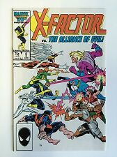 X-Factor #5 (Real-Sharp!) 1st app. Apocalypse (cameo); 1986; Marvel (c#04392)
