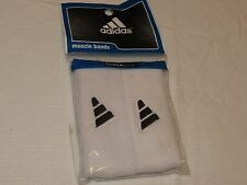 Adidas climalite Interval 1 inch Muscle arm Band logo BLK White bands 5134404