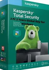 KASPERSKY TOTAL Security for Windows 2020 / 3 PC / 2 years / GLOBAL-KEY