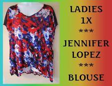 WOMEN'S PLUS SIZE 1X 16W JENNIFER LOPEZ BLOUSE - CLOTHING NEW